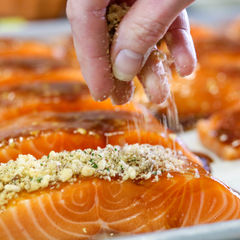 Herb Crusted Salmon