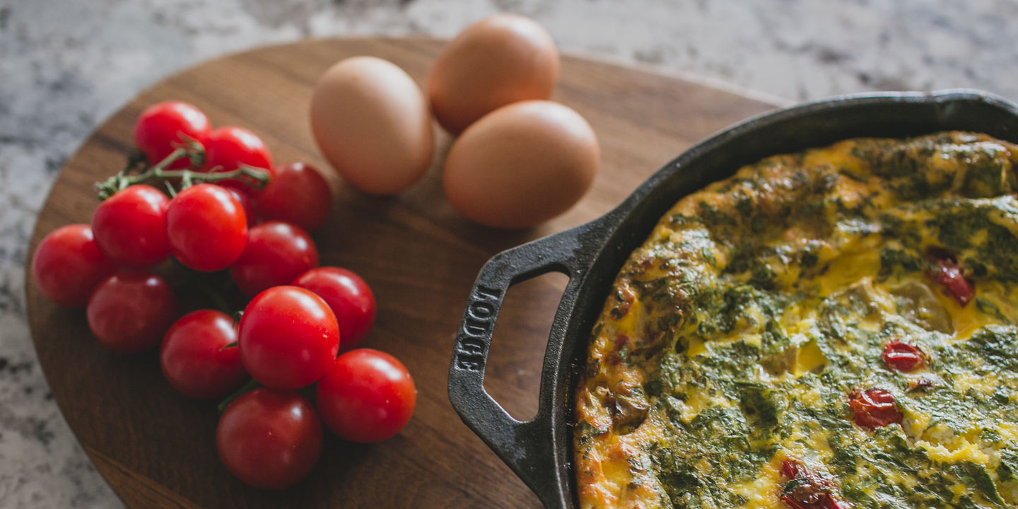 Blog Cherry, Eggs & Frittata